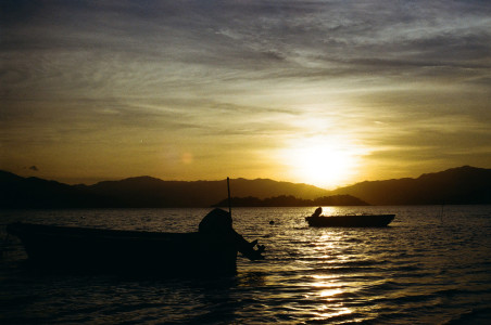 Sunset in To Tau Wan
